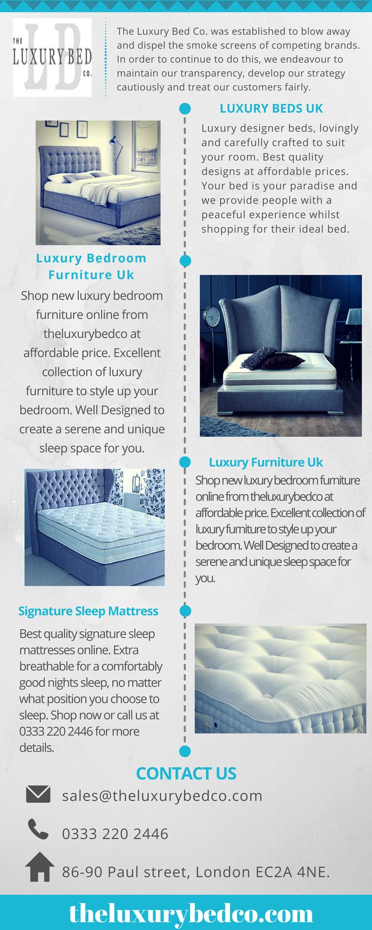 The Luxury Bed Co Offers Designer Beds Frames In A Range Of Sizes And Styles