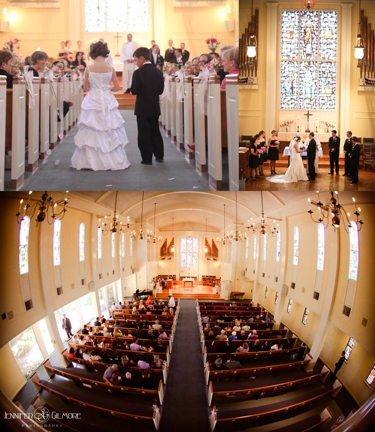 Church Bells Ringing On Our Wedding Day: Ceremony In A Church, Family, Bride, Groom, Wedding Dress