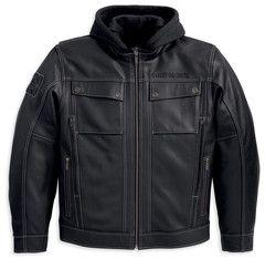 Harley-Davidson® Men's Generator 3-in-1 Leather Jacket. 97135-13VM