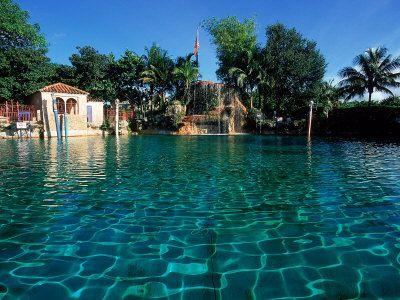 Venetian Pool Coral Gables Miami Fl Beautiful Swim