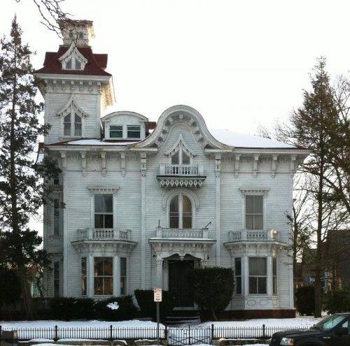 "Newport Providence Rhode Island: Broadway's Historic ""Wedding Cake House"", Providence"