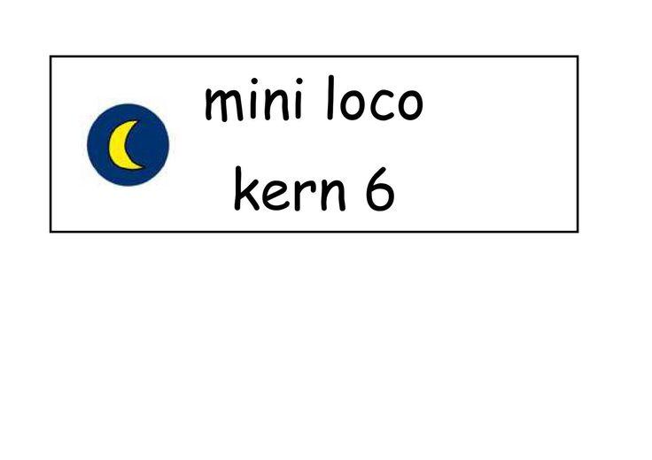 Kaarten Mini Loco - kern 6
