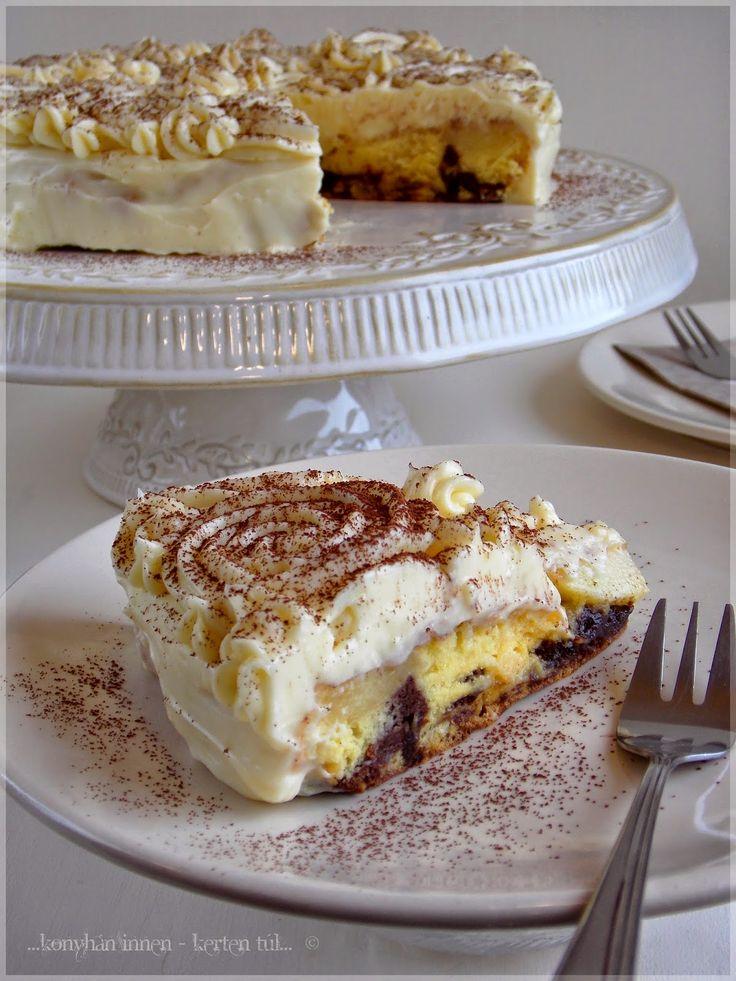 Idejét nem tudom, hogy mióta szemezek ennek a süteménynek az eredetijével, ami a Rama Süssünk-süssünk valamit című hőskölte...