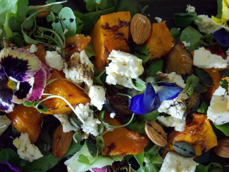 roasted pumpkin salad from www.myfoodlove.com