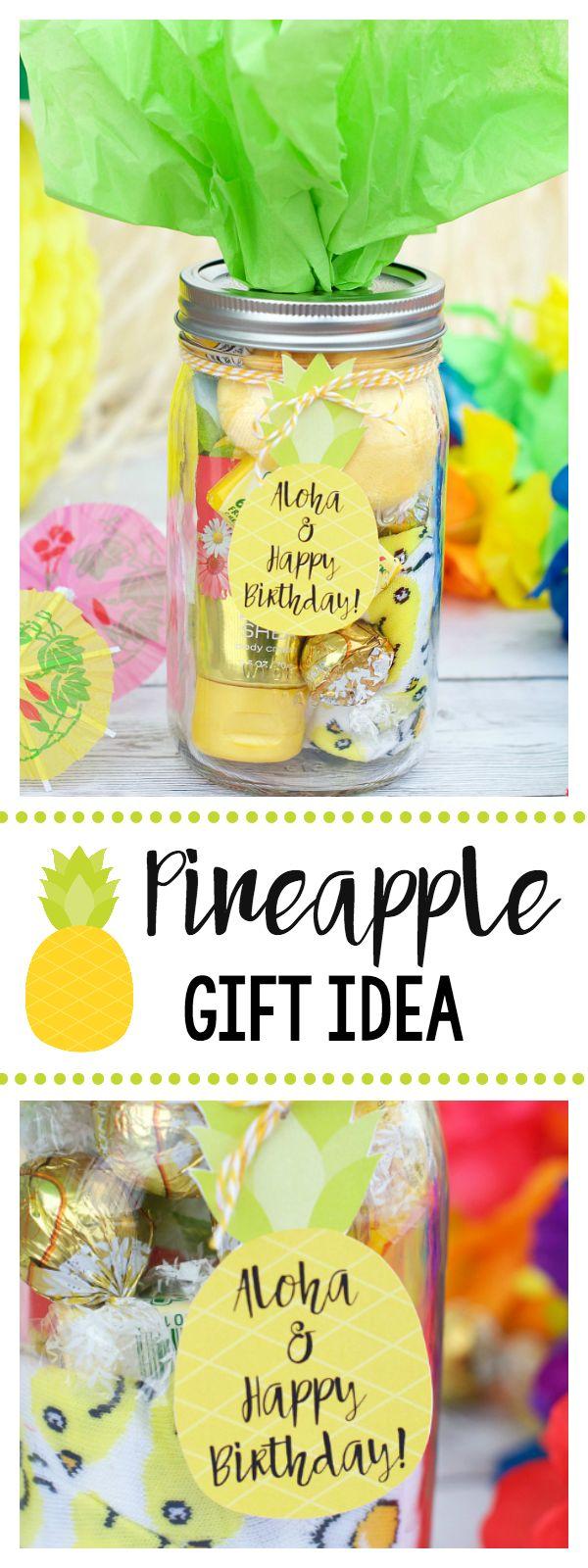 Pineapple Gift Idea