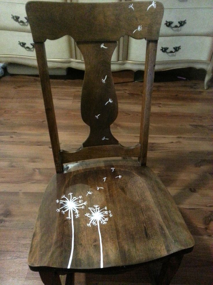 Upcycled rocking chair #DIY #rockingchair #Dandelion