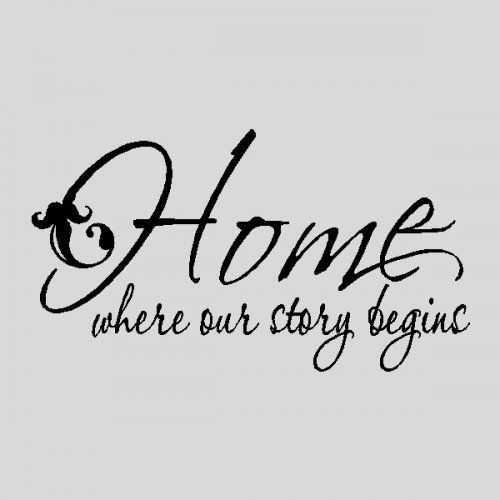 Home Quotes Stunning 17 Best Quotes About Home Images On Pinterest  Families Homes And