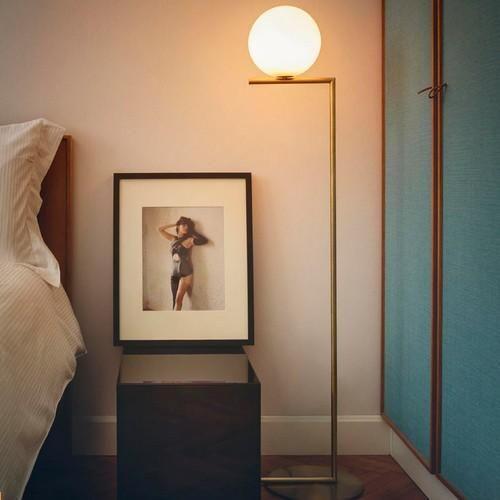 LC podłogowa (Złota, Mała) - Flos | Designerskie Lampy & Oświetlenie LED