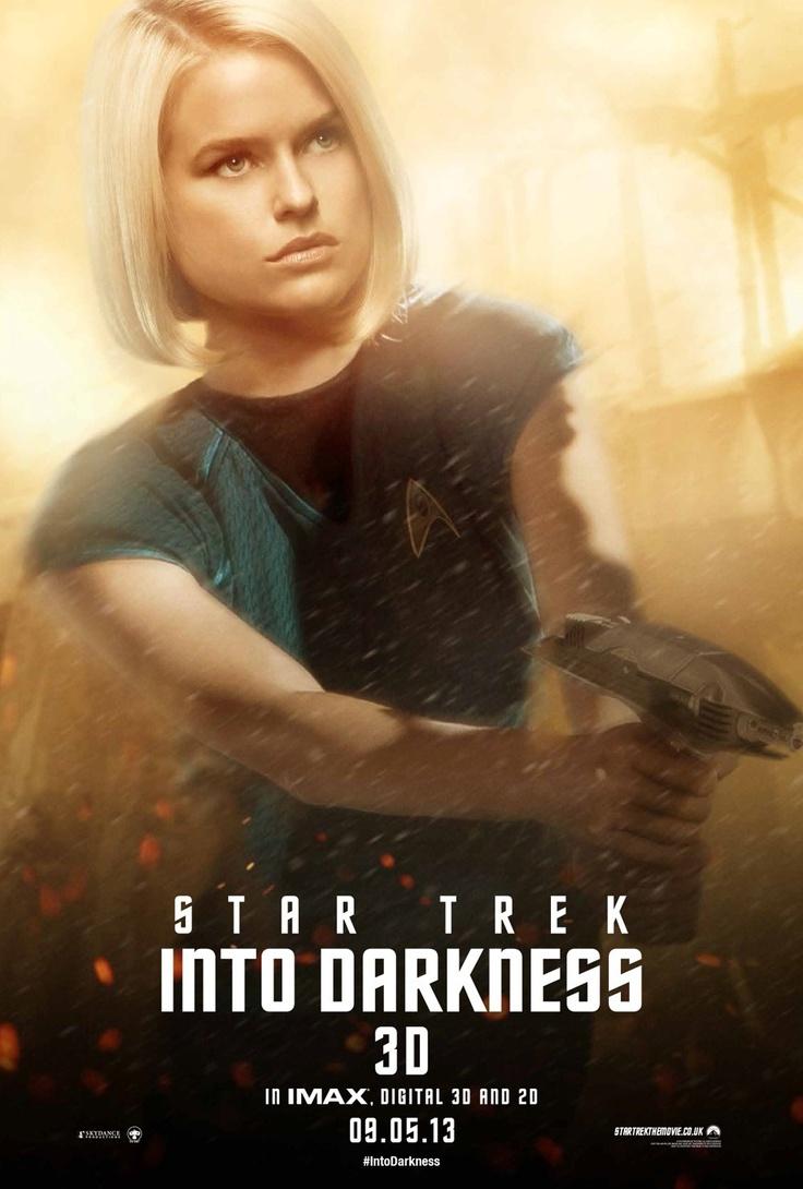 Star Trek Into Darkness, Alice Eve as Carol Marcus