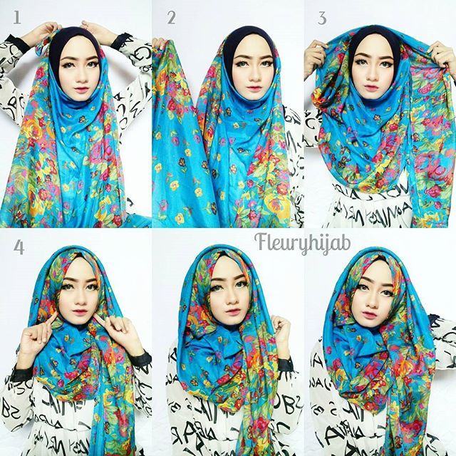Full Chest Coverage Hijab Tutorial