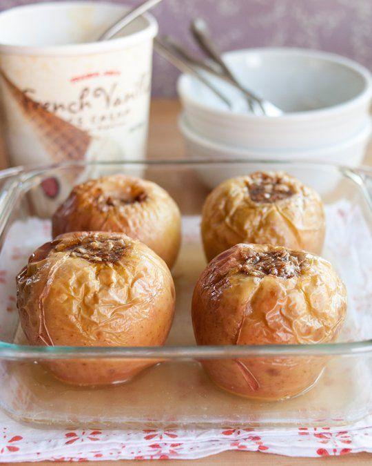 Oatmeal-Brown Sugar Baked Apples | Recipe