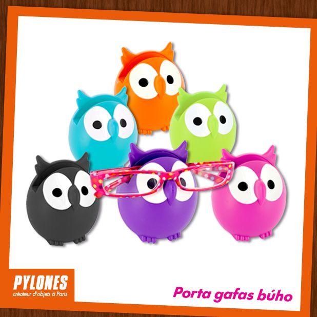 Porta gafas búho. @pylonesco #pylonesco