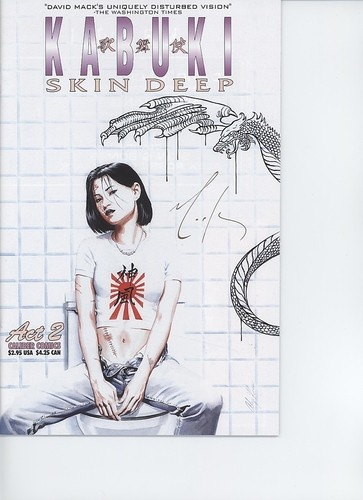 $4.99 1997 Kabuki Skin Deep Act 2 Caliber Comics Signed David Mack VFNM | eBay
