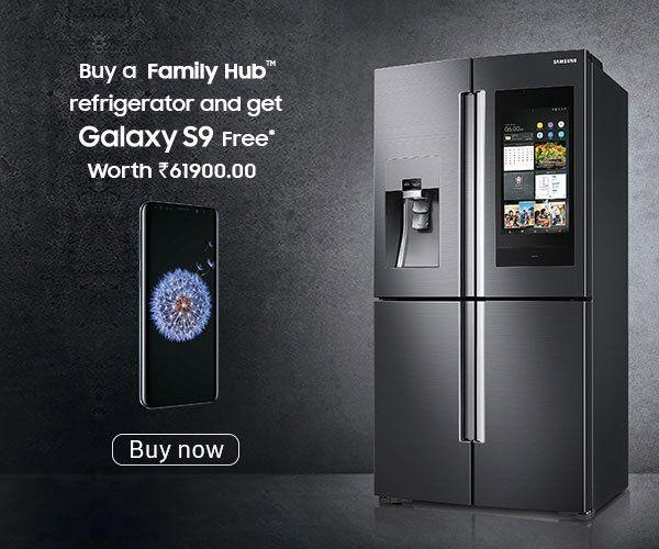 Samsung Side By Side Refrigerators Samsung India Samsung Refrigerator Refrigerator Family Hub Refrigerator