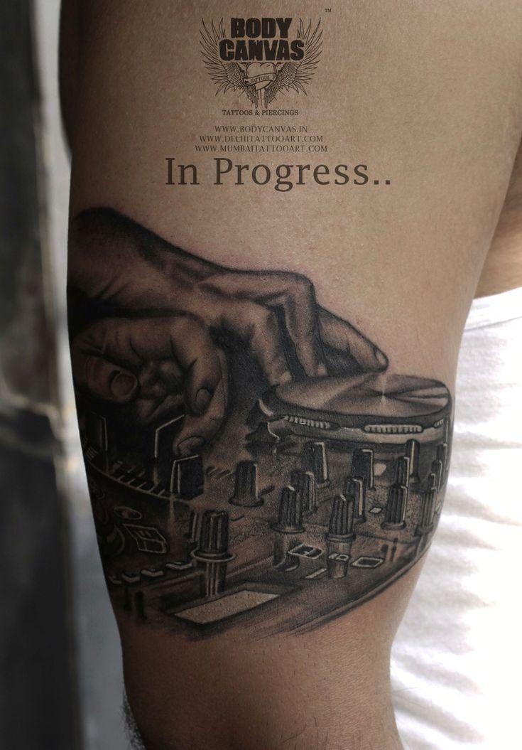 Dj tattoo  Music tattoo