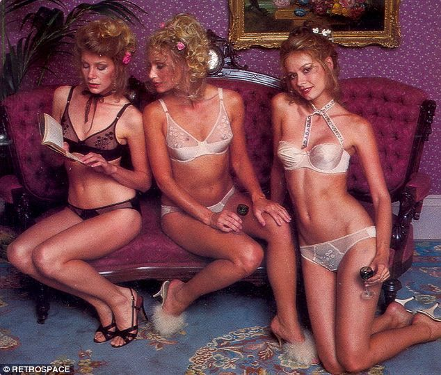 Victorias Secret Catalog picture from 1979!! Times have changed!!