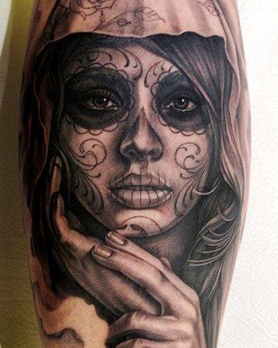 Il significato dei tatuaggi: la Santa Muerte - Tattoo Defender