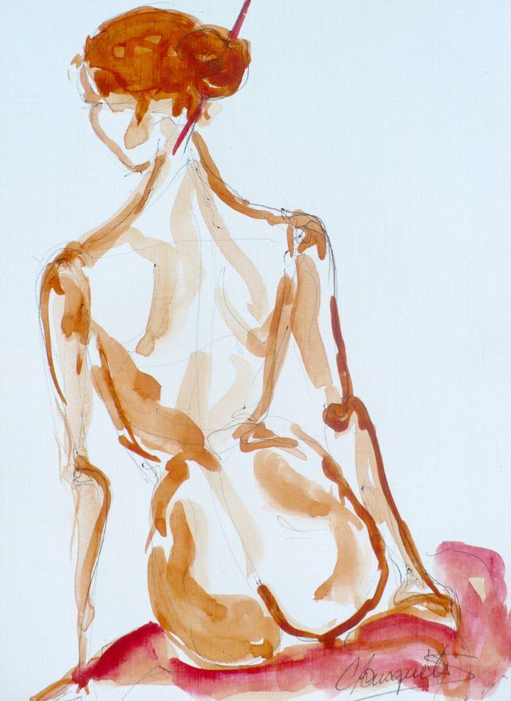 ArtistCarolina Busquets, 42, from Santiago - Chile.    postal-art.tumblr.com