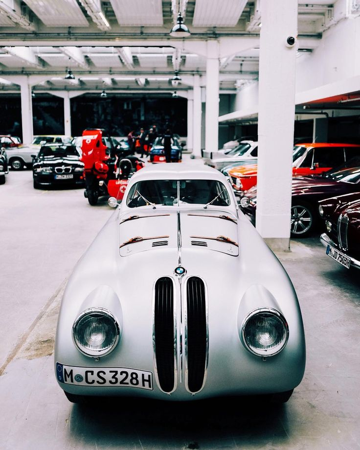 The first and only car to win the original Mille Miglia (1940) and the modern race (2004) • The 1938 BMW 328 Mille Miglia Touring Coupé. | Found by John Beck McConnico (via @tedgushue)