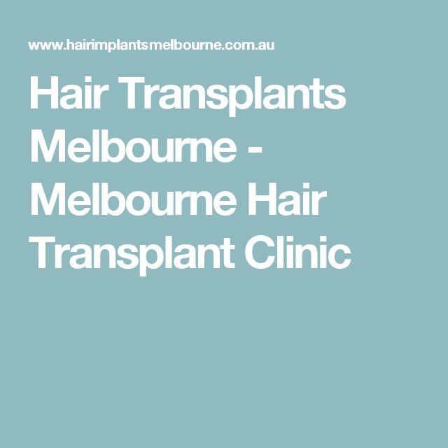 Hair Transplants Melbourne - Melbourne Hair Transplant Clinic