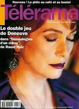 Catherine Deneuve / 1997 / Une / Photo de presse