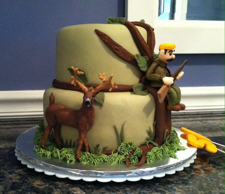 торт для охотника украшенный мастикой фото сочтите мой выбор