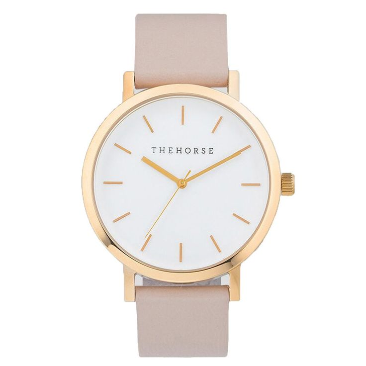 159 The Horse Watch - Rose Gold/Blush
