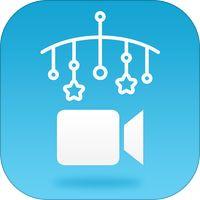 Monitor de bebe universal por Bipfun Opción para grabar con iPhone y iPad en brazo de extensión
