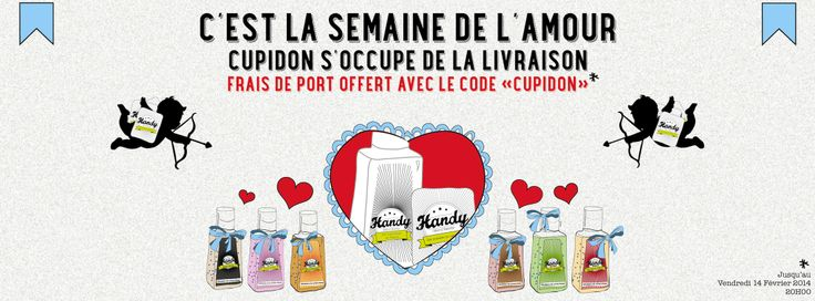 www.mercihandy.fr #stvalentin #promotion #amour #cupidon