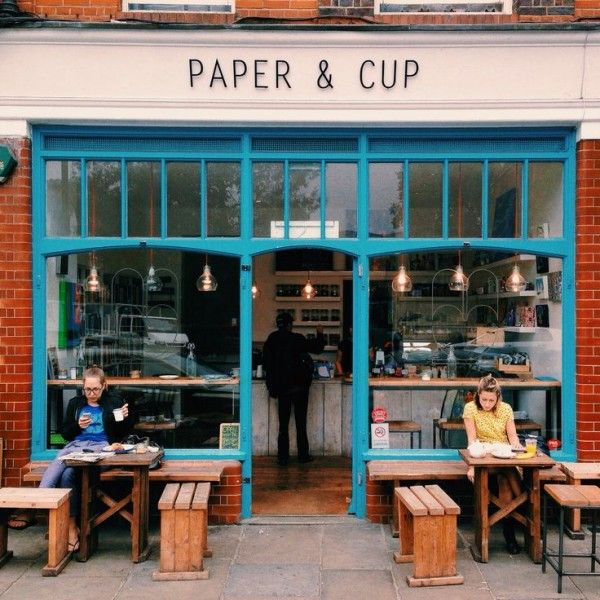 Local con encanto en Londres http://www.paperandcup.co.uk/our-street