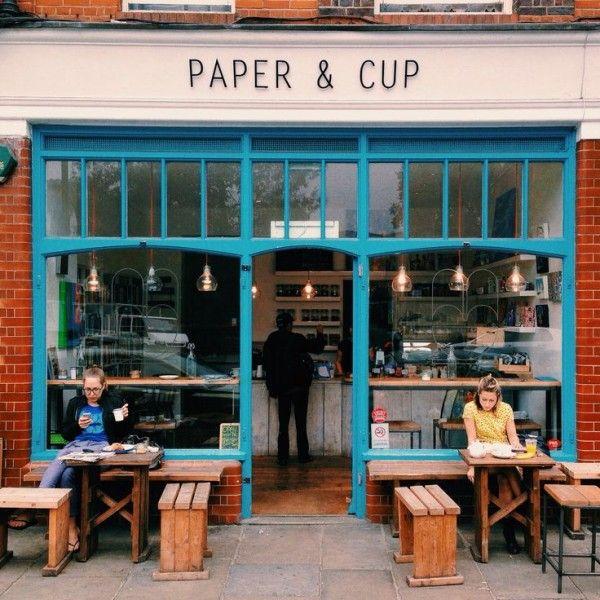 Local con encanto en Londres http://www.paperandcup.co.uk/our-street