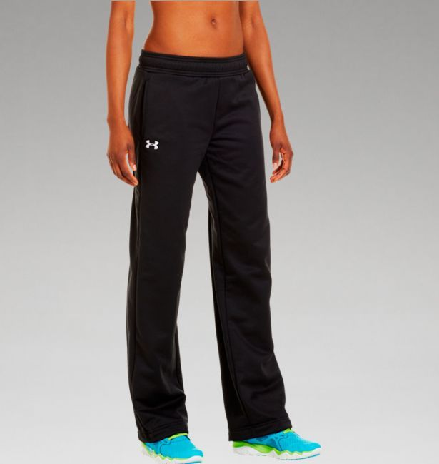 Women's Armour® Fleece Team Pants | Under Armour US Size Med.