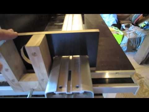 Home made table saw - YouTube