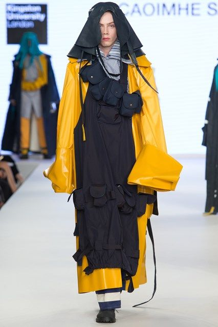 Catwalk photos and all the looks from Kingston University BA Spring/Summer 2017…