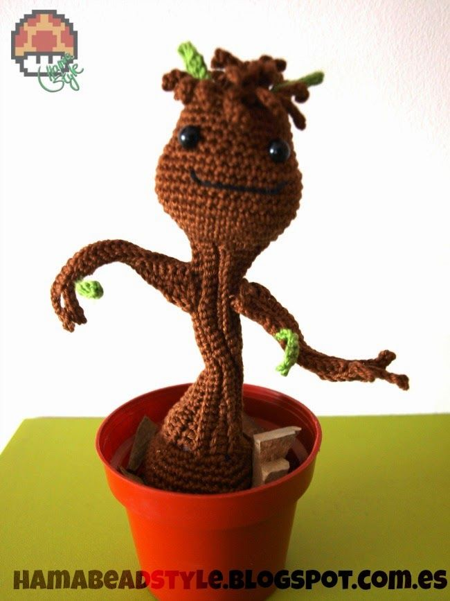 Amigurumi Groot Patron : 249 best images about munequitos on Pinterest Crochet ...