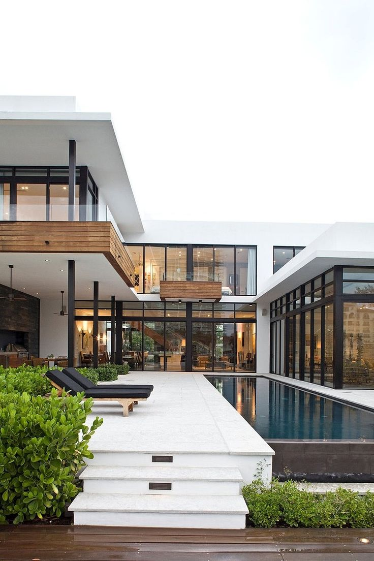 Modern mansion exterior - Franco Residence By Kz Architecture More