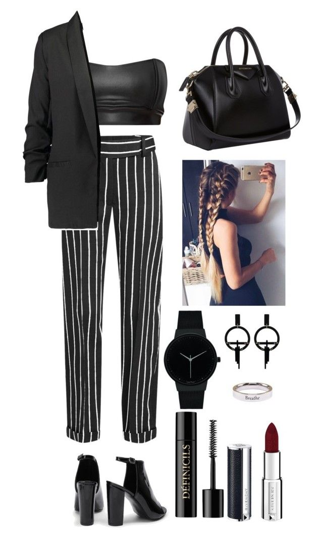 """""""Good deal"""" by utkonos on Polyvore featuring Haider Ackermann, Givenchy, Geneva, Toolally, Pink Box and Lancôme"""