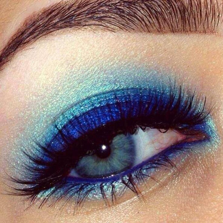 8 maquillages pour les yeux bleus vus sur Pinterest - Coup de Pouce