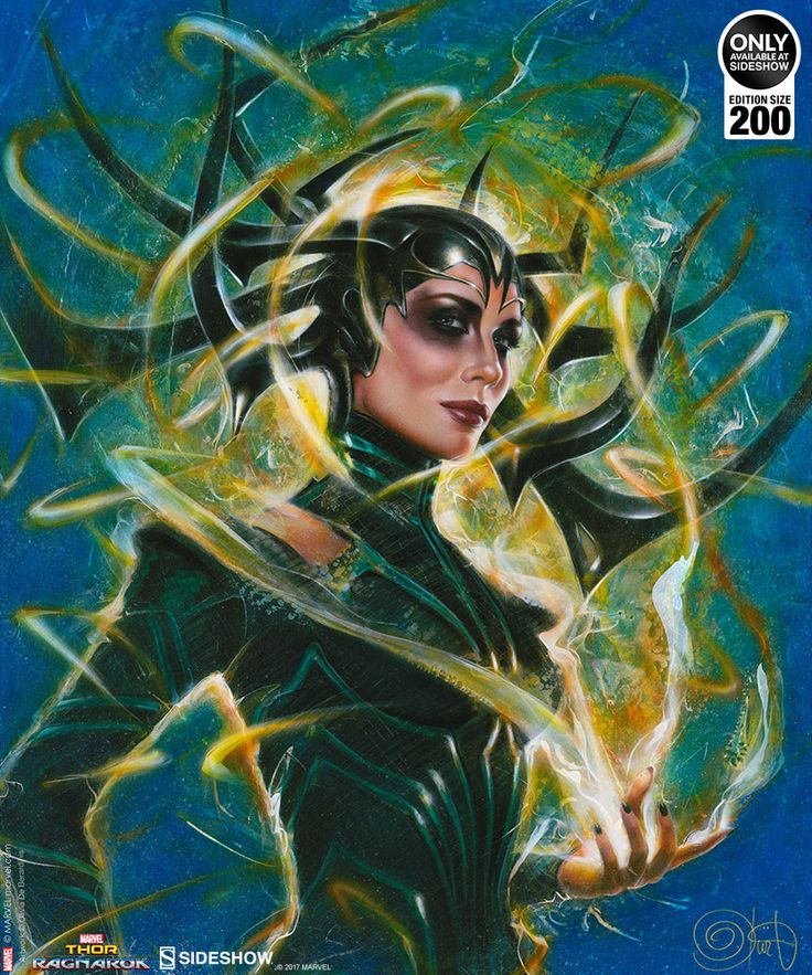 Hela: Goddess of Death Art Print