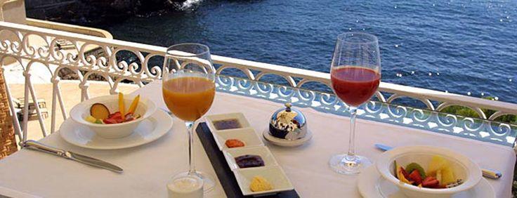 El mejor desayuno del mundo en Hotel Hospes Maricel, Palma de Mallorca.