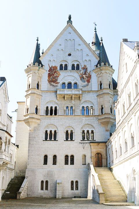 Take a day trip from Munich through the Bavarian countryside to Neuschwanstein Castle! This castle was the inspiration for Sleeping Beauty's Castle at Disneyland.