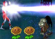 Plantas contra zombies en la noche BETA