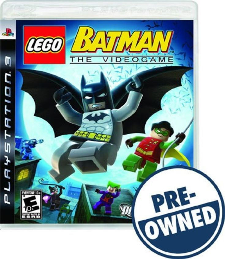 Lego Batman: The Videogame — PRE-Owned - PlayStation 3