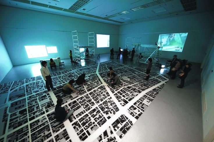 麗しきマチ - Our Home City- Exhibition (architecture/graphic)  JCD Award 2007,silver prize SDA Award 2007,second prize