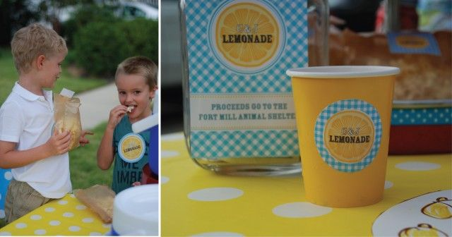 Lemonade Day printables