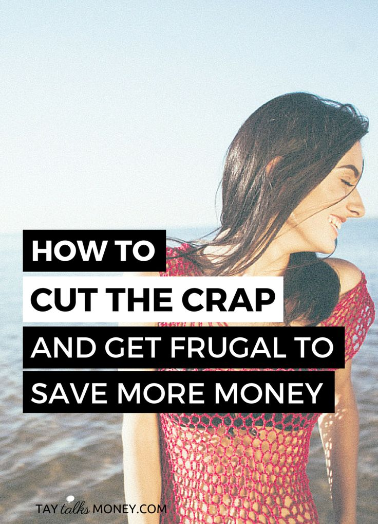 You know you should save more money, but the desire to spend is overpowering! Here's how to cut the crap and get in the saving game.