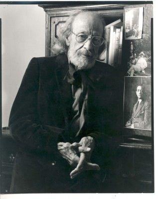 10/16- Happy Birthday, Primo Conti, Italian Futurist artist. 1900-1988.