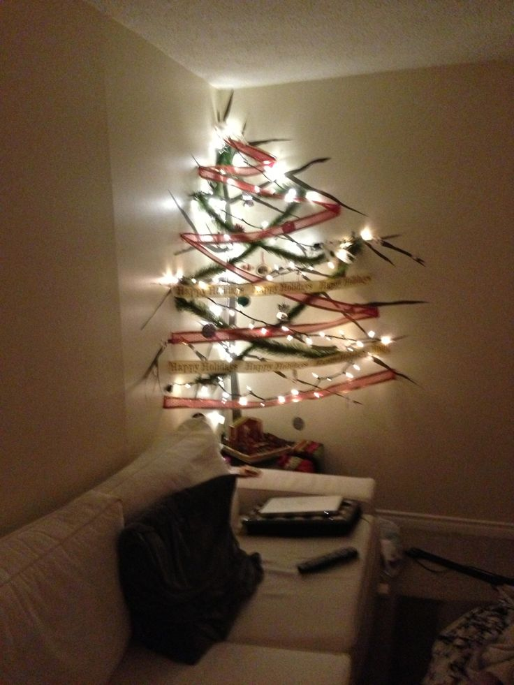 Make your own Christmas tree in any corner !