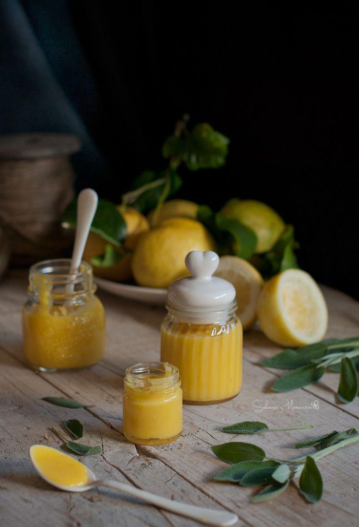 Sabores y Momentos   {Lemon curd} con un toque de salvia   http://saboresymomentos.es