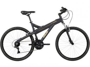 Bicicleta Caloi T-Type Aro 26 21 Marchas Suspensão - Dianteira Câmbio Shimano Freio V-brake